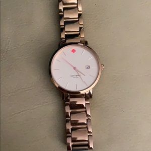 Gold Kate Spade Wrist Watch